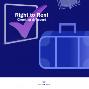 Right to Rent - Checklist and Record