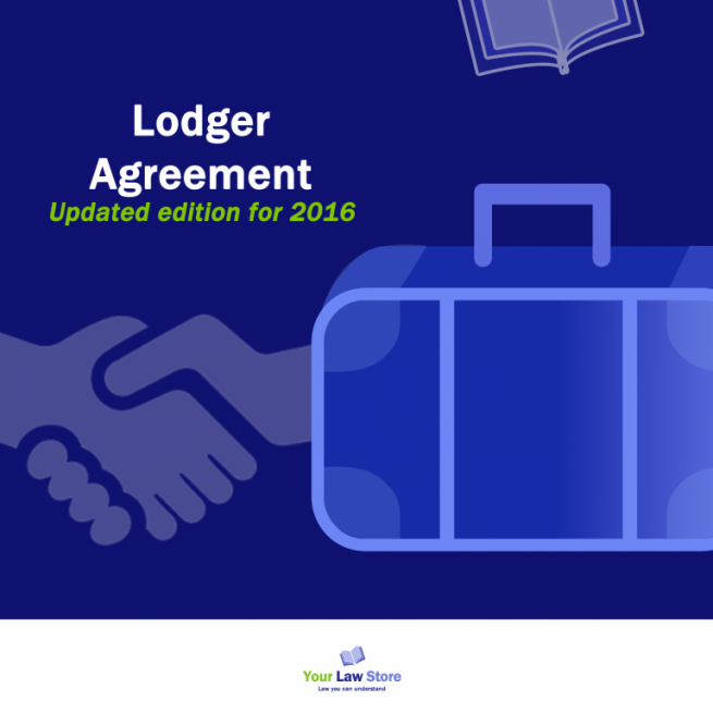 Lodger Agreement - updated 2016