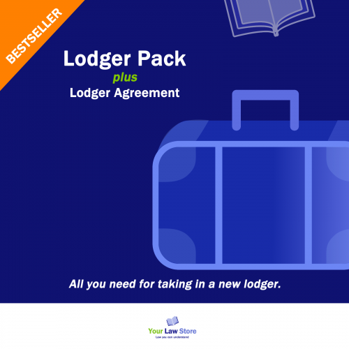 Lodger pack plus Lodger Agreement