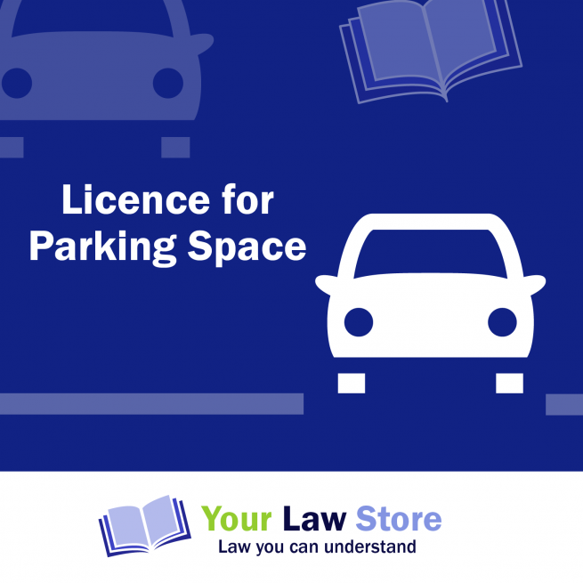 Licence Parking Space